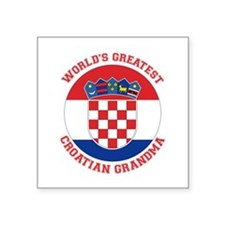 Croatian Grandma Sticker