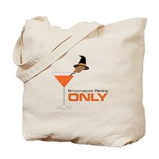 Broomstick Parking Tote Bag