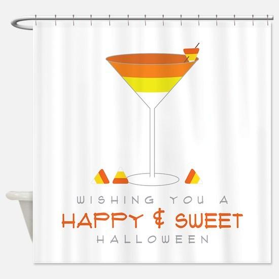 Sweet Halloween Shower Curtain