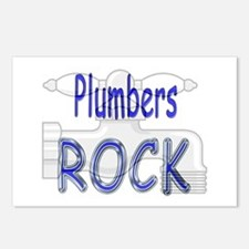 Plumbers Rock Postcards (Package of 8)