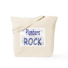 Plumbers Rock Tote Bag