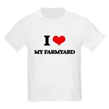I Love My Farmyard T-Shirt