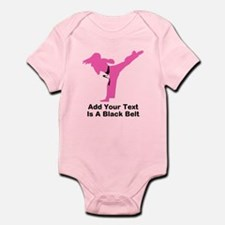 Martial Arts Personalised Infant Bodysuit
