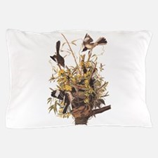 Audubon's Mocking Bird Pillow Case