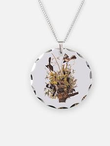 Audubon's Mocking Bird Necklace