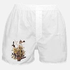 Audubon's Mocking Bird Boxer Shorts