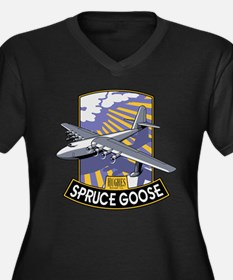 H-4 Hercules Spruce Goose flying Plus Size T-Shirt