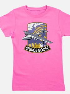 H-4 Hercules Spruce Goose flying boat Girl's Tee
