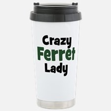 Cute Ferret Thermos Mug