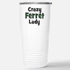Funny Ferret Travel Mug