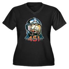 Fahrenheit 451 Fireman Plus Size T-Shirt
