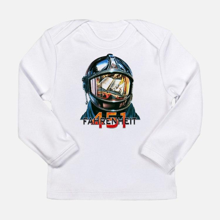 Fahrenheit 451 Fireman Long Sleeve T-Shirt