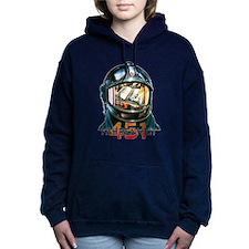 Fahrenheit 451 Fireman Women's Hooded Sweatshirt