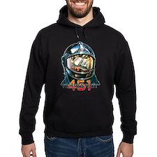 Fahrenheit 451 Fireman Hoodie