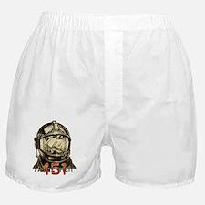Fahrenheit 451 Fireman Grunge Boxer Shorts