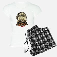 Fahrenheit 451 Fireman Grun Pajamas