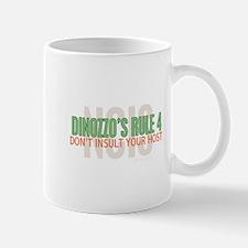 Dinozzo's Rule 4 Mugs