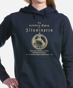 Steampunk Illuminati Ori Women's Hooded Sweatshirt