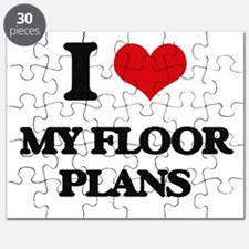 I Love My Floor Plans Puzzle