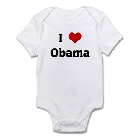 I Love Obama Infant Bodysuit