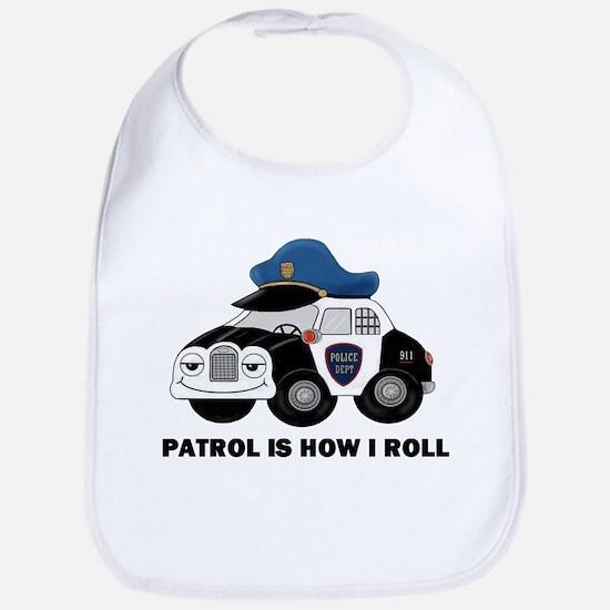 POLICE CAR Bib