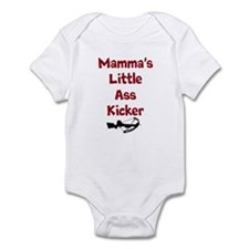 Mamma's Little Ass Kicker Baby Onsie Body Suit