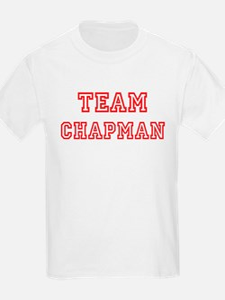 Team CHAPMAN (red) T-Shirt