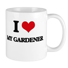 I Love My Gardener Mugs