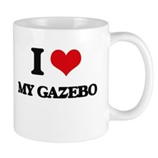 I Love My Gazebo Mugs
