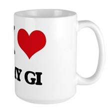 I Love My Gi Mugs