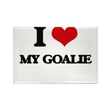 I Love My Goalie Magnets