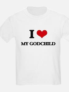 I Love My Godchild T-Shirt