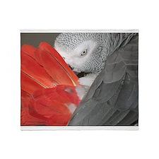 Elegant Grey Throw Blanket