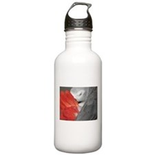 Elegant Grey Water Bottle