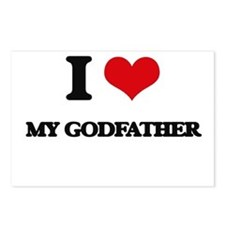 I Love My Godfather Postcards (Package of 8)