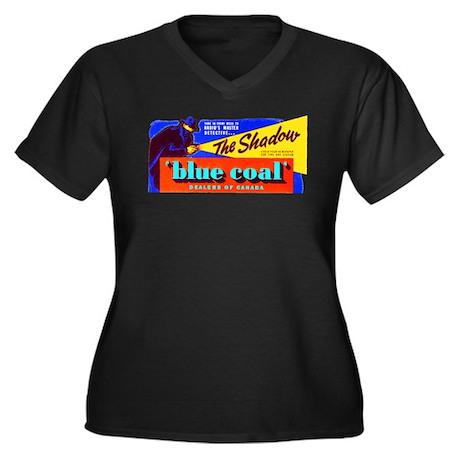 The Shadow #2 Women's Plus Size V-Neck Dark T-Shir