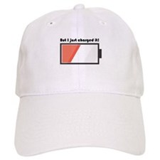 Charged It Baseball Baseball Baseball Cap