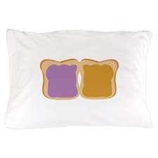 PB & J Sandwich Pillow Case
