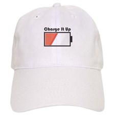 Charge It Up Baseball Baseball Baseball Cap
