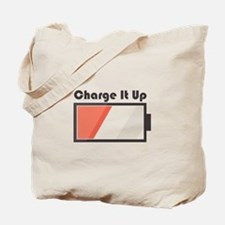 Charge It Up Tote Bag