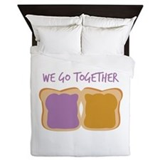 We Go Together Queen Duvet