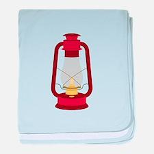 Kerosene Lamp baby blanket