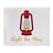Light The Way Throw Blanket