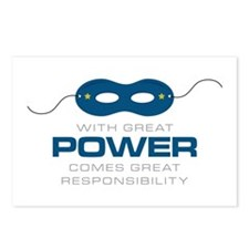 Great Power Postcards (Package of 8)