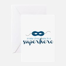A Superhero Greeting Cards