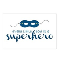 A Superhero Postcards (Package of 8)