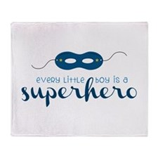 A Superhero Throw Blanket
