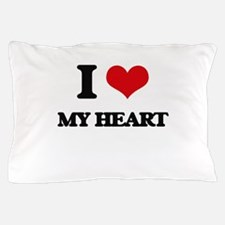 I Love My Heart Pillow Case