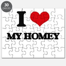 I Love My Homey Puzzle