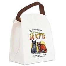 11by14badkities.psd Canvas Lunch Bag